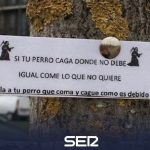Posters appear in Zabalgana that threaten to poison dogs | BE Vitoria - Health Insurance