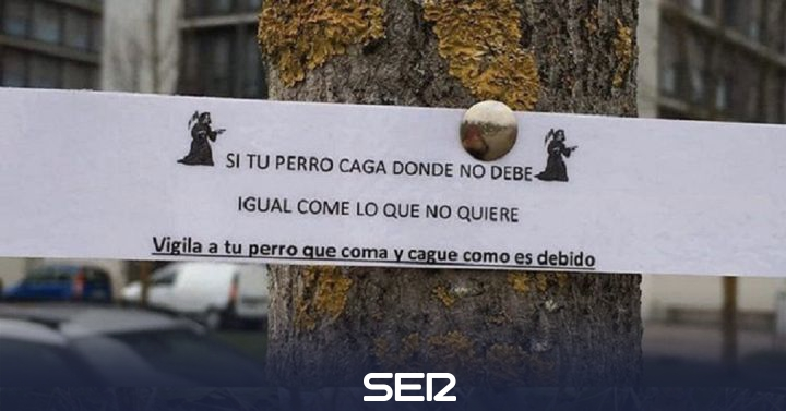 Posters appear in Zabalgana that threaten to poison dogs | BE Vitoria
