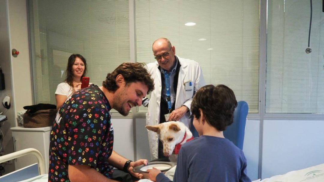 El Hospital ha puesto en marcha una unidad canina.