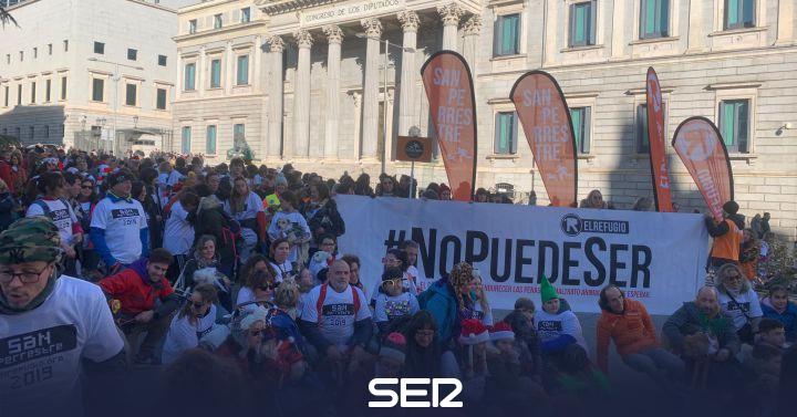 San Perrestre vindicates against animal abuse | Radio Madrid