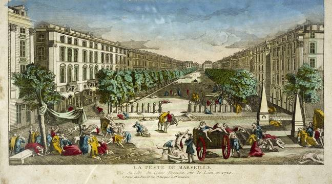 Two archives plunge us back into confinement, 300 years ago, during the last plague epidemic in France