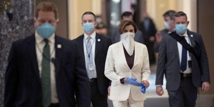 La Chambre a adopté une facture provisoire de secours de 484 $ sur les coronavirus qui paiera les tests et offrira de l