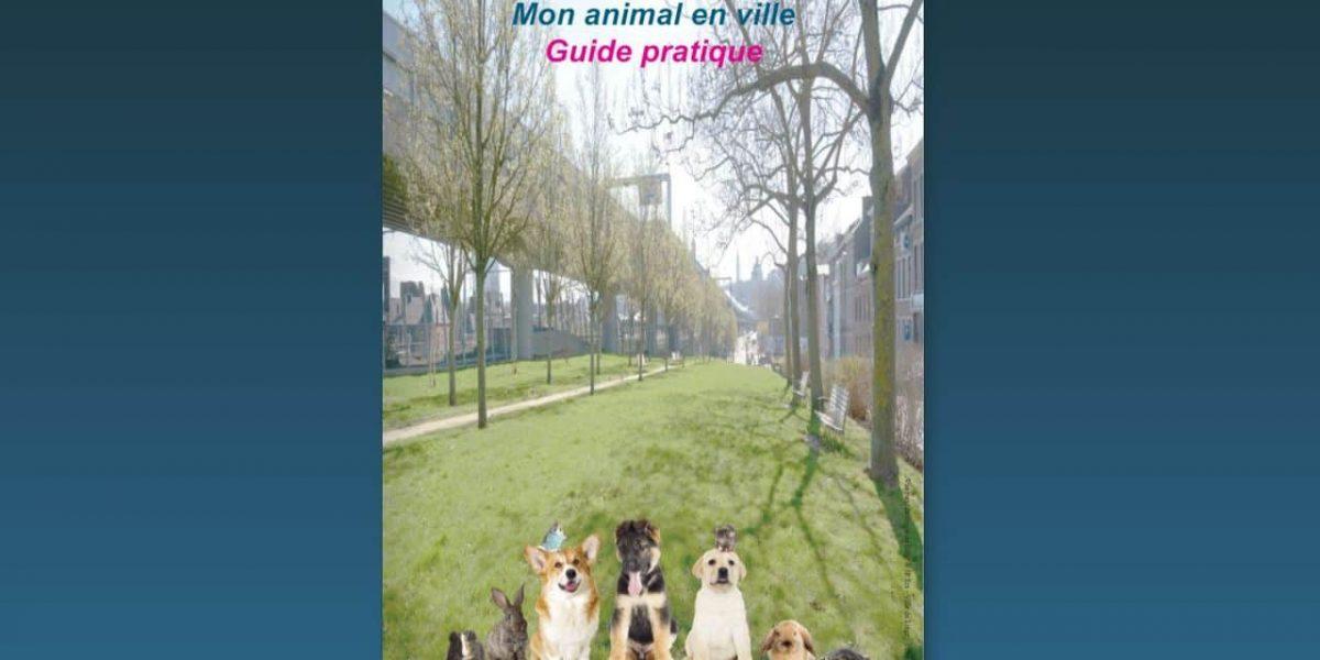 """Liège : un guide """"Mon animal en ville"""""""