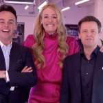Cat Deeley able to hug Ant and Dec on SNT thanks to being in bubble