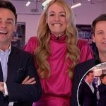 Saturday Night Takeaway viewers react angrily as Cat Deeley's clasps hands with Ant during the show